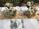 Tischdekoration am Silbersee Burgau